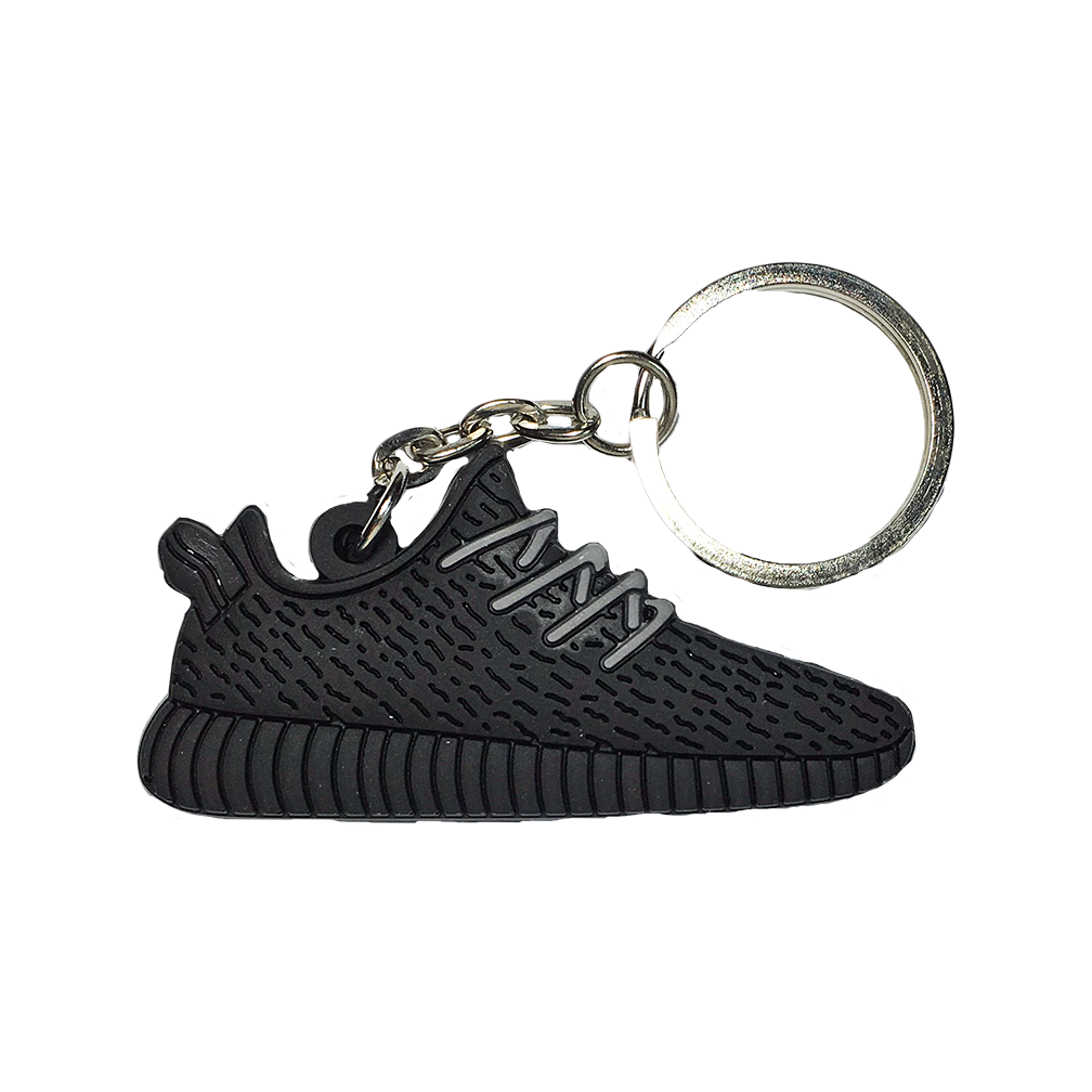 "Yeezy Boost 350 ""Pirate Black"" Keychain"