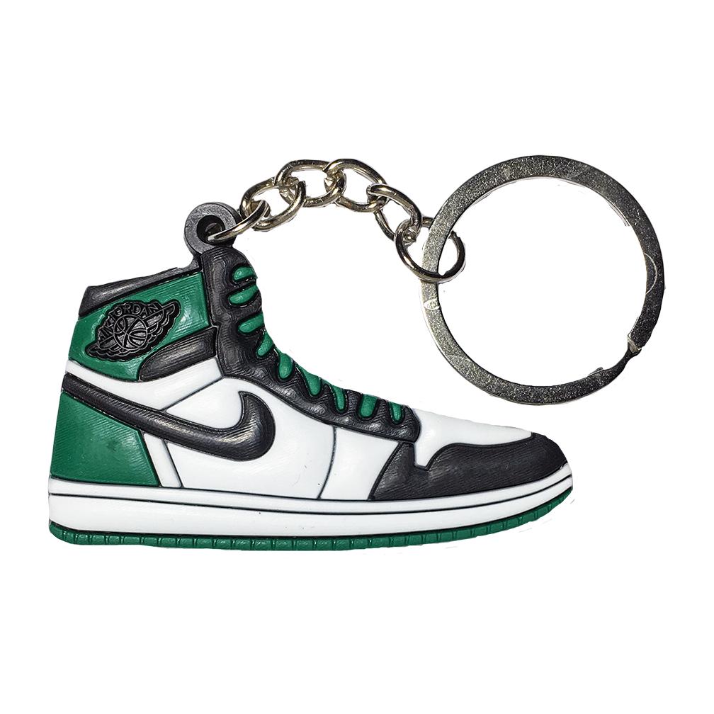 "Jordan 1 ""Celtics"" Keychain"