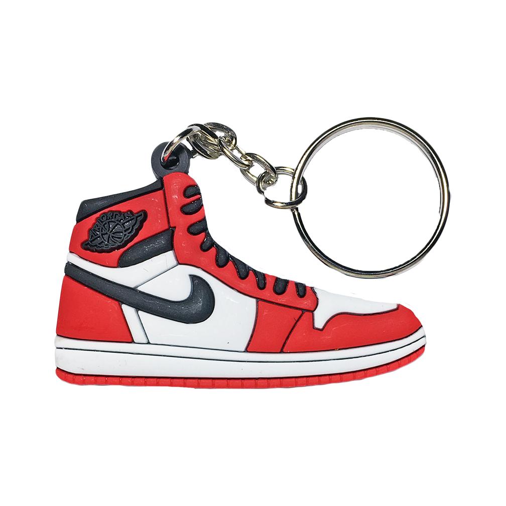 "Jordan 1 ""Chicago"" Keychain"