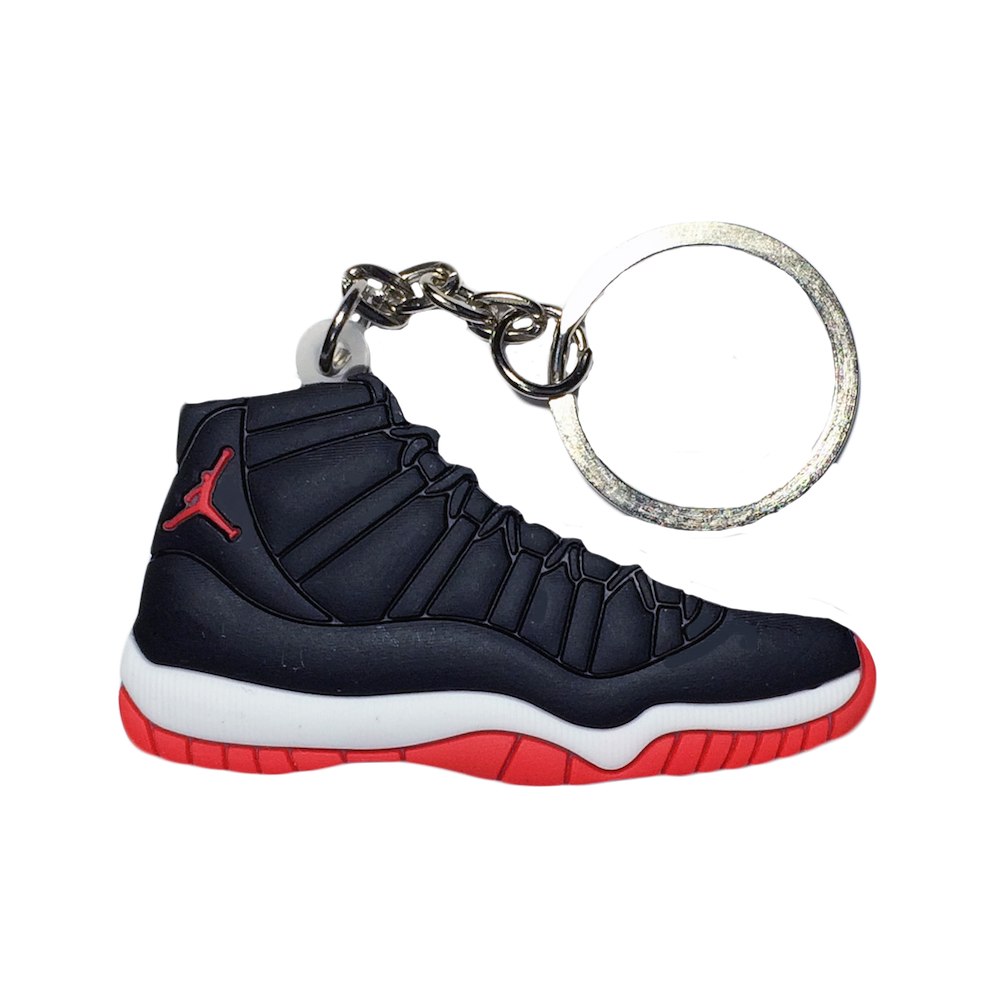 Jordan 11 'Bred' Keychain