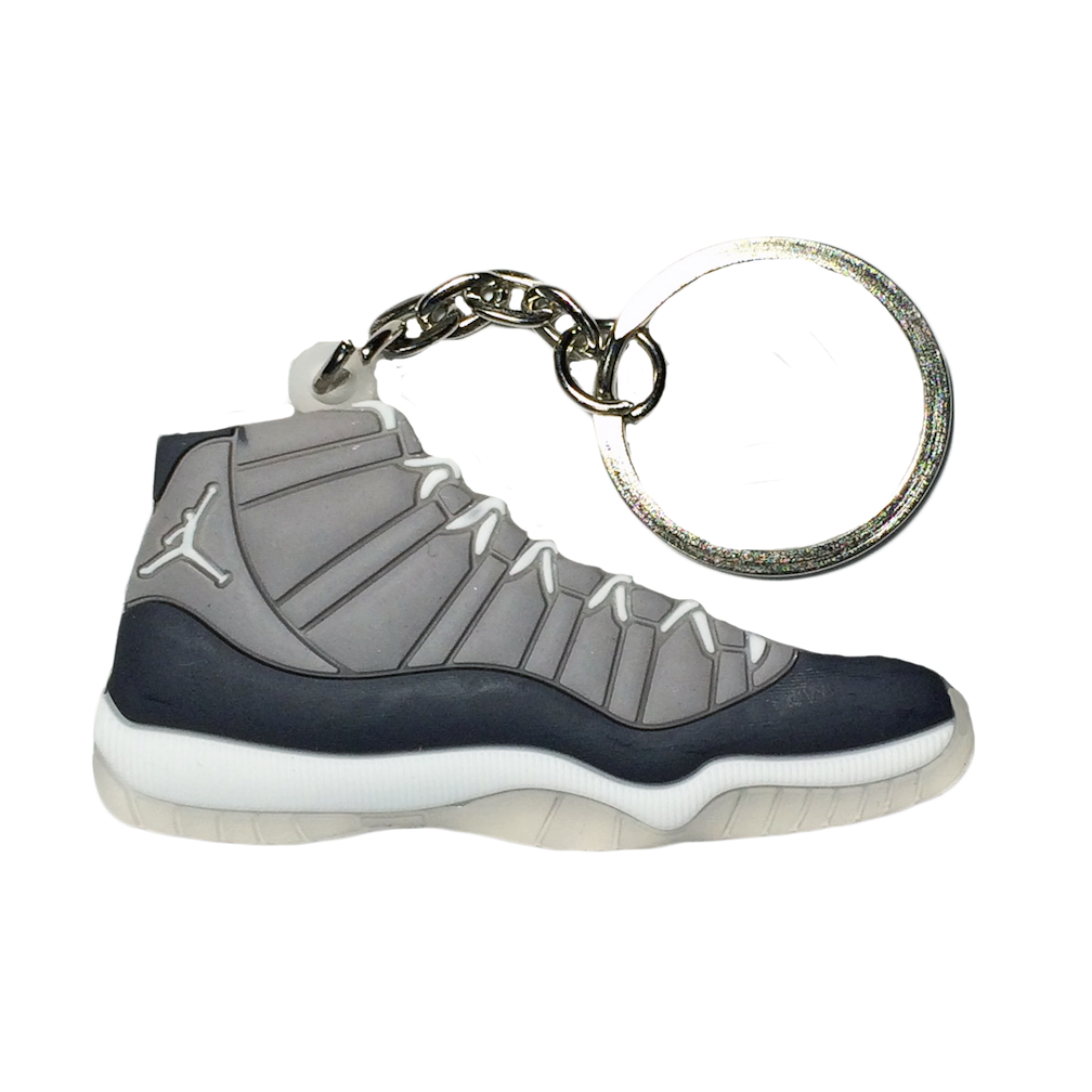 Jordan 11 'Cool Grey' Keychain