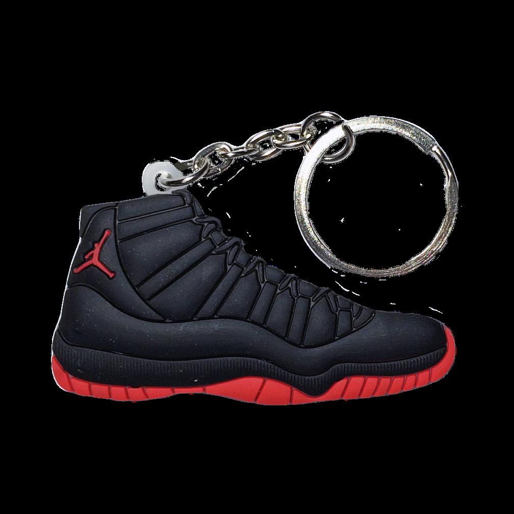 Jordan 11 'Dirty Bred' Keychain