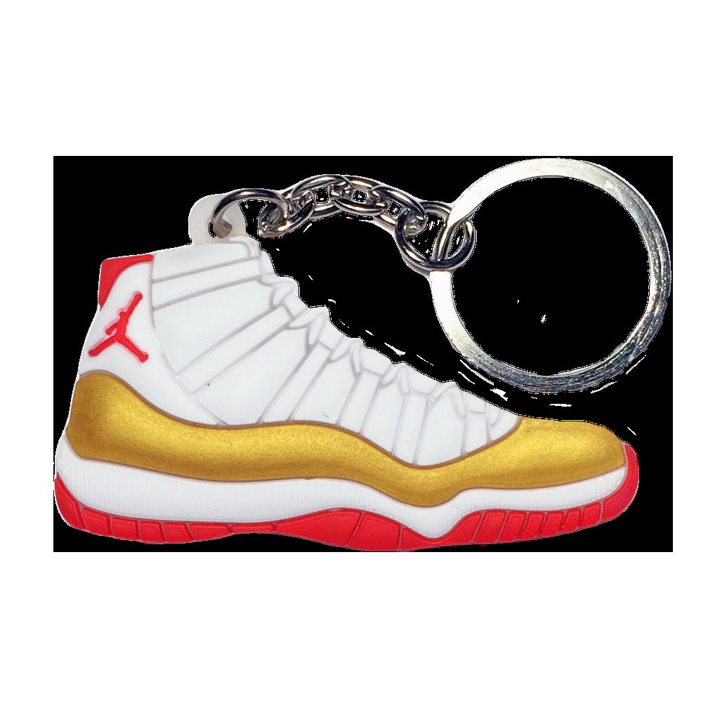 Jordan 11 'Sugar Ray' Keychain