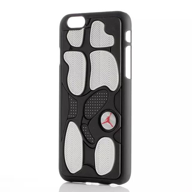 Jordan 13 Black/White IPhone Case