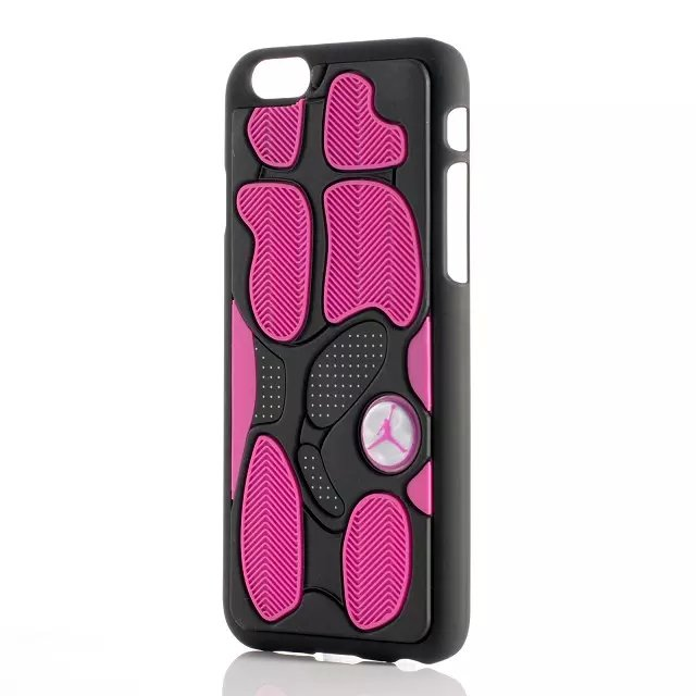 Jordan 13 Black/Pink IPhone Case