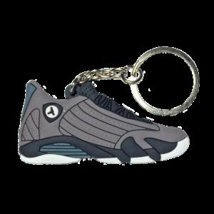 Jordan 14 'Graphite' Keychain