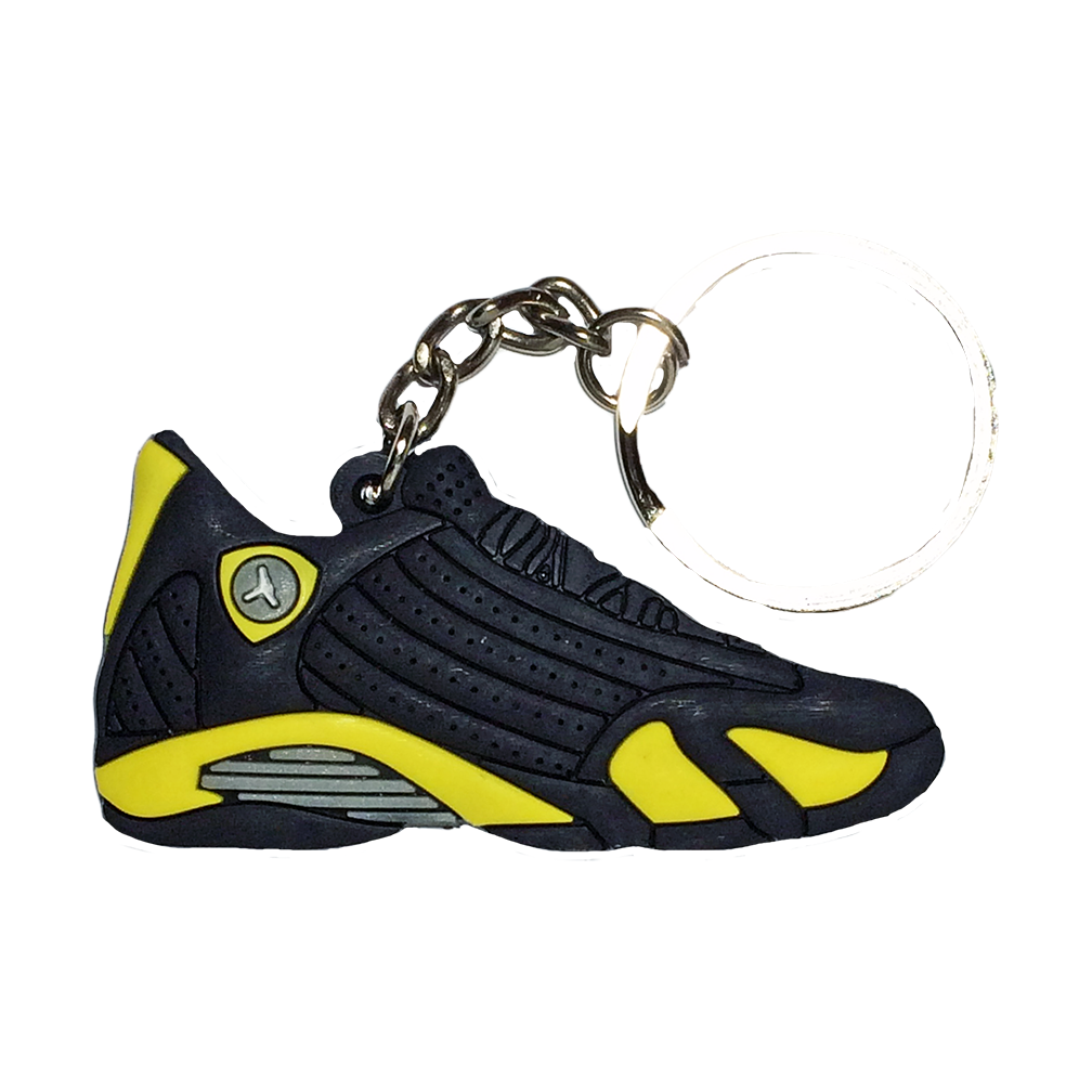 Jordan 14 'Thunder' Keychain