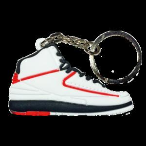 Jordan 2 'Chicago' Keychain