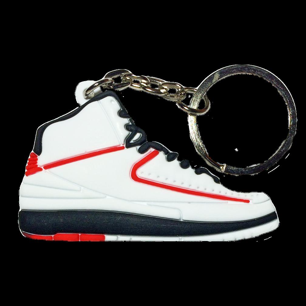 "Jordan 2 ""Chicago"" Keychain"