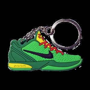 Kobe 6 'Grinch' Keychain