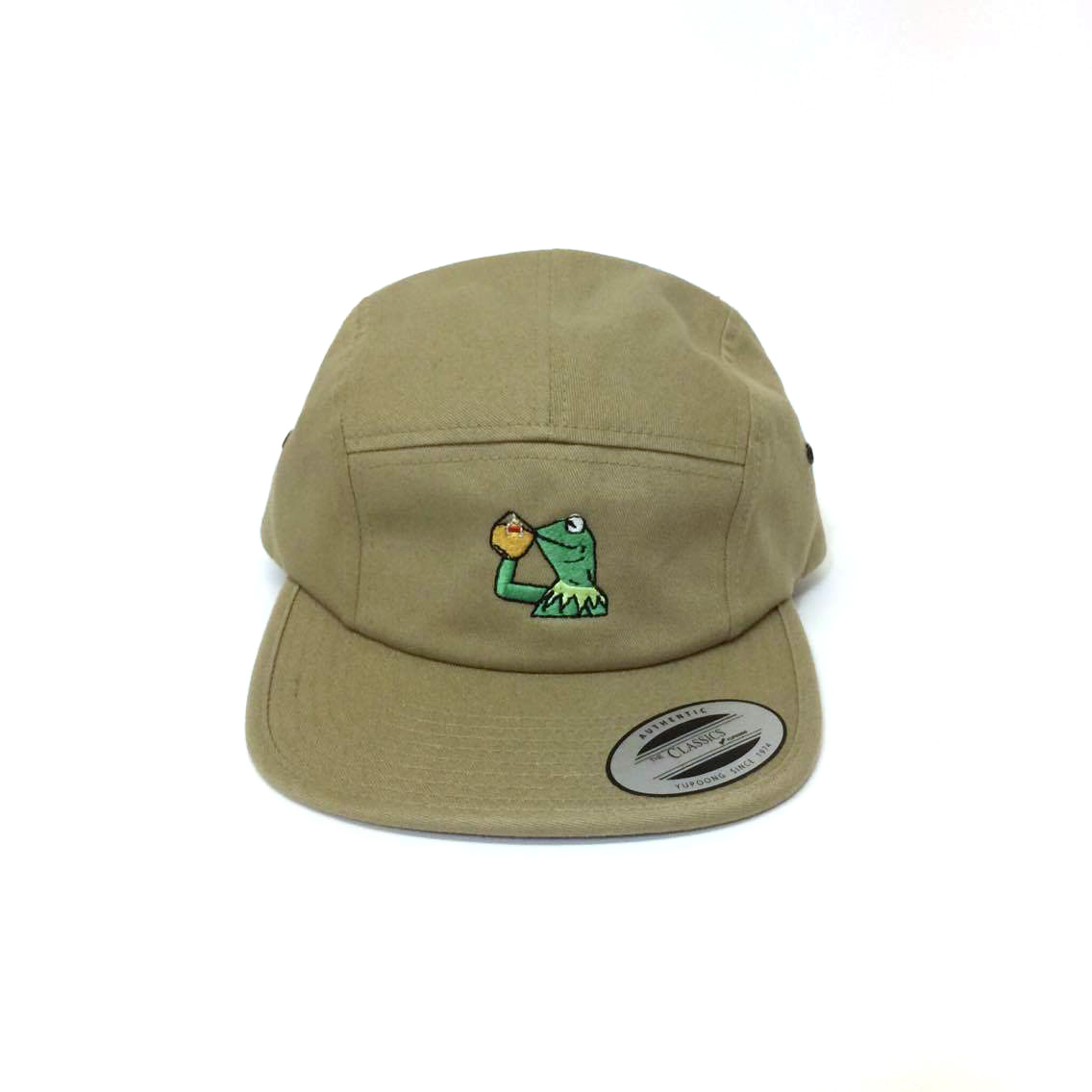"""None Of My Business"" 5 Panel Jockey Cap"
