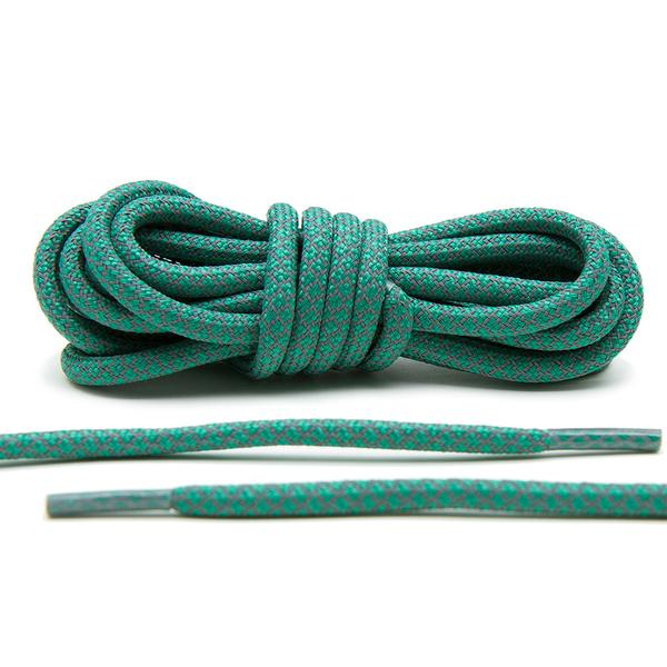 Green – 3M Reflective Rope Laces