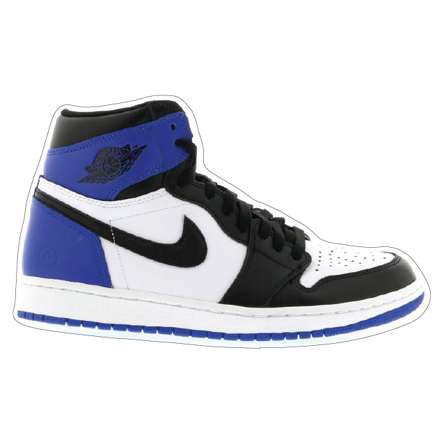 "Jordan 1 ""Fragment"" Shoe Box Sticker"