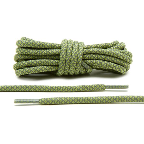 Olive – 3M Reflective Rope Laces