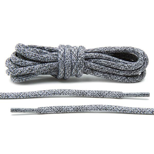 Black/White- Multi-Colour Rope Laces