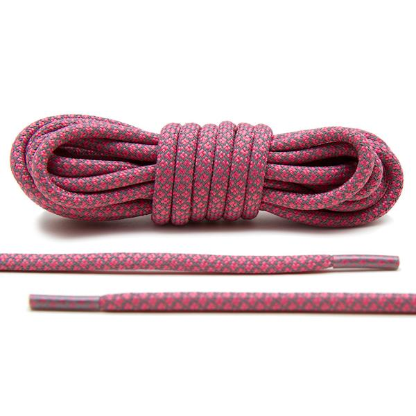 Pink – 3M Reflective Rope Laces