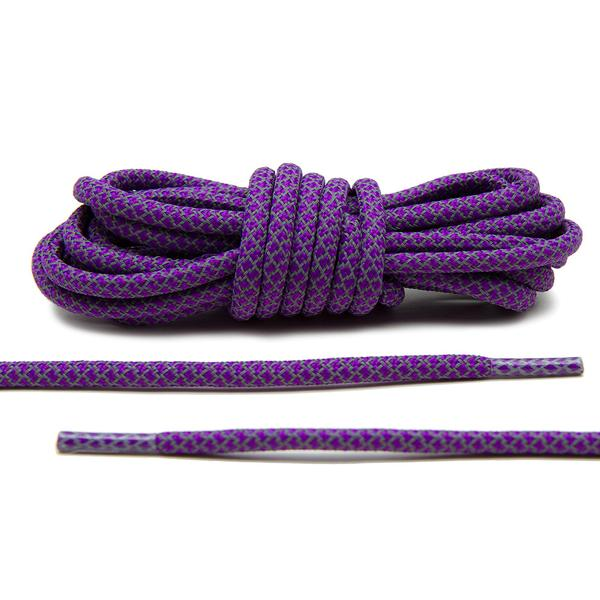 Purple – 3M Reflective Rope Laces