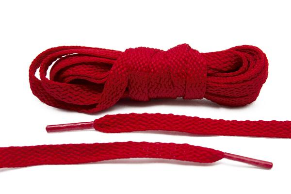 Red – Flat Laces