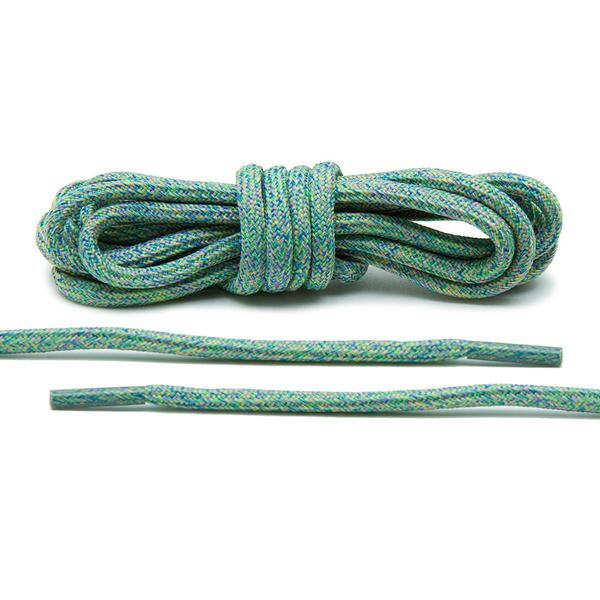 Green – Multi-Colour Rope Laces