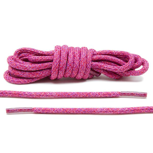 Pink – Multi-Colour Rope Laces