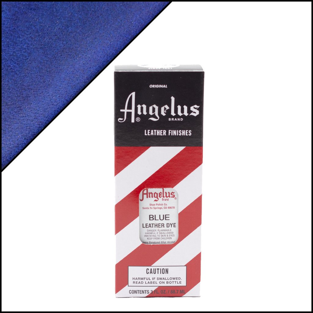 Angelus Blue Leather Dye 3 Oz.