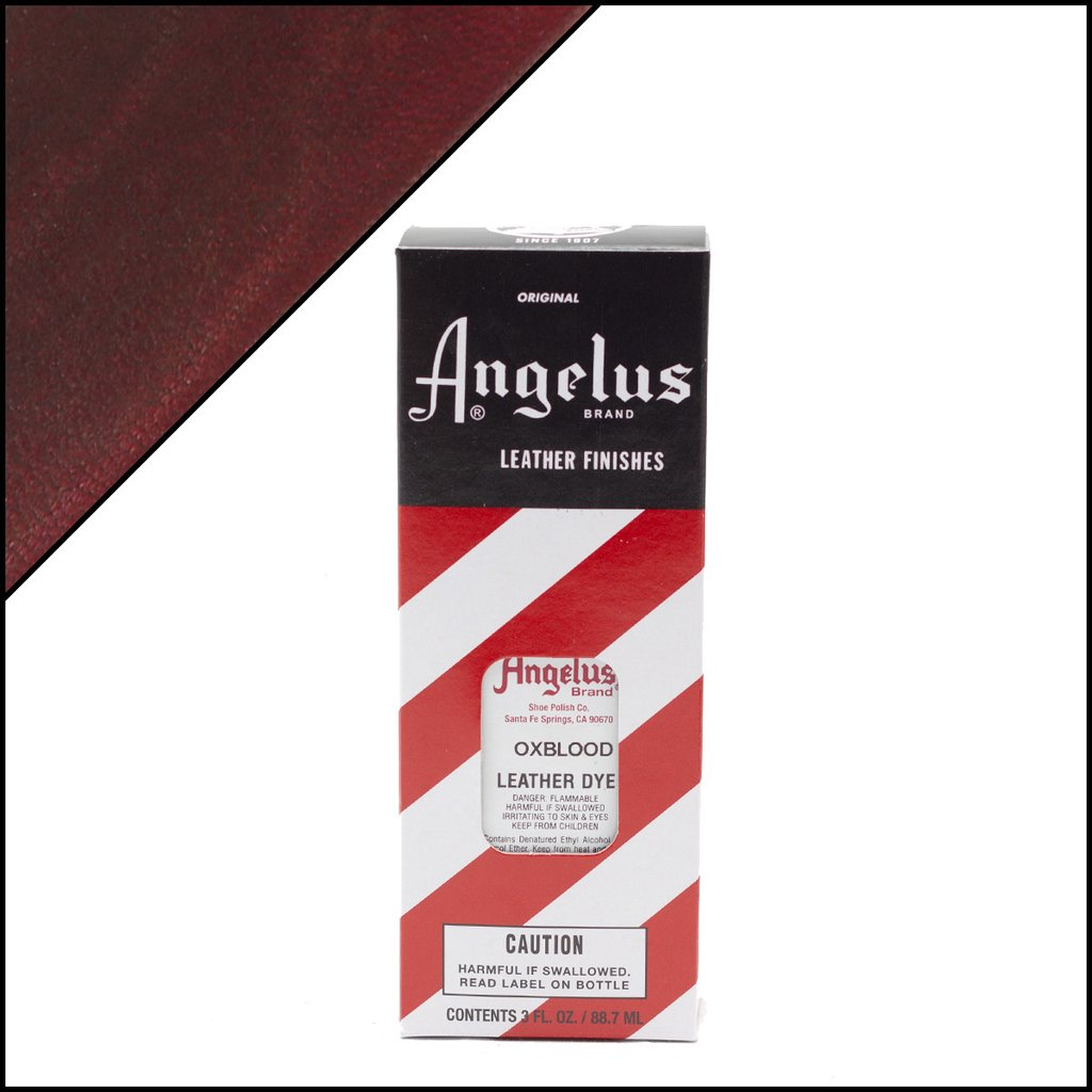 Angelus Oxblood Leather Dye 3 Oz.