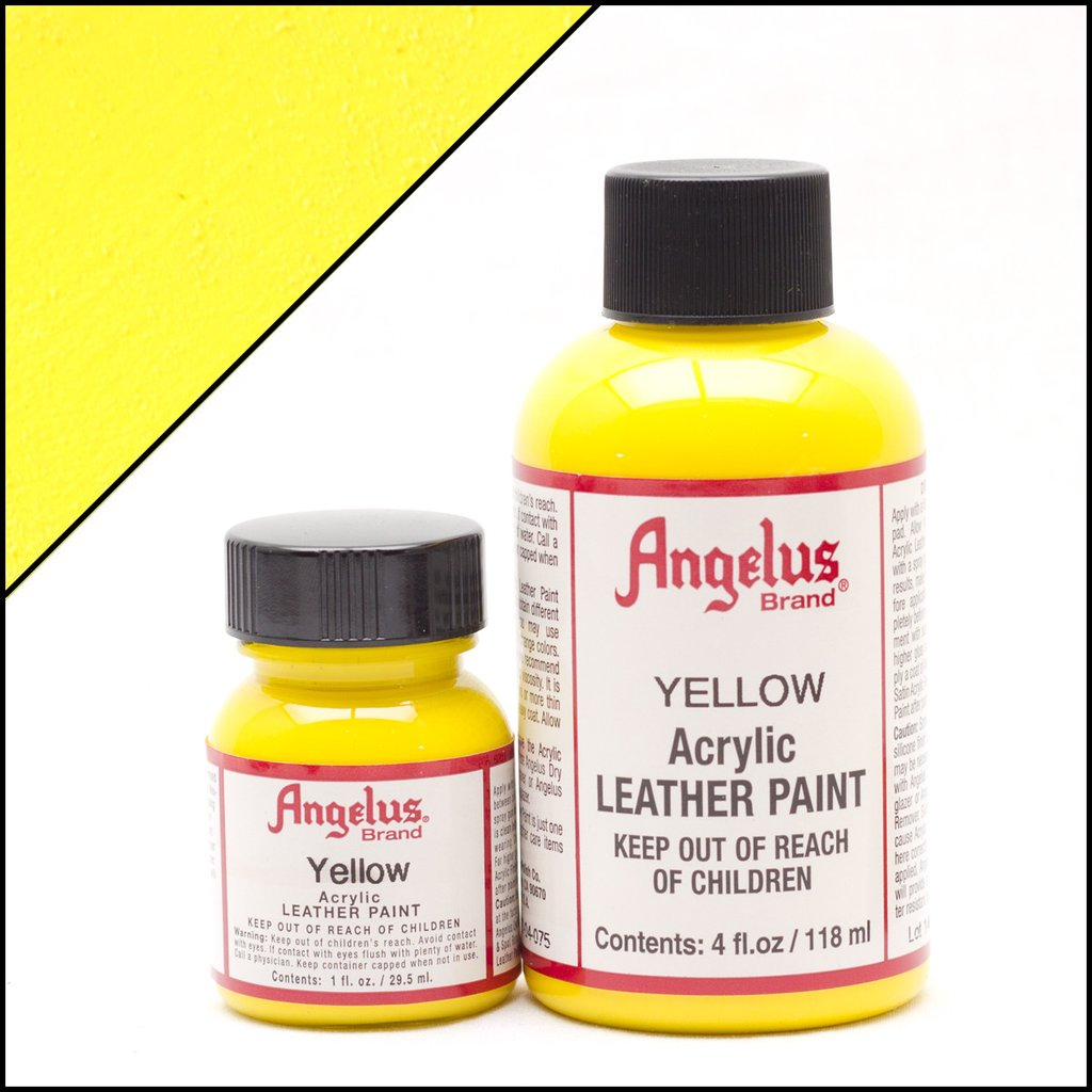 Angelus Yellow Paint
