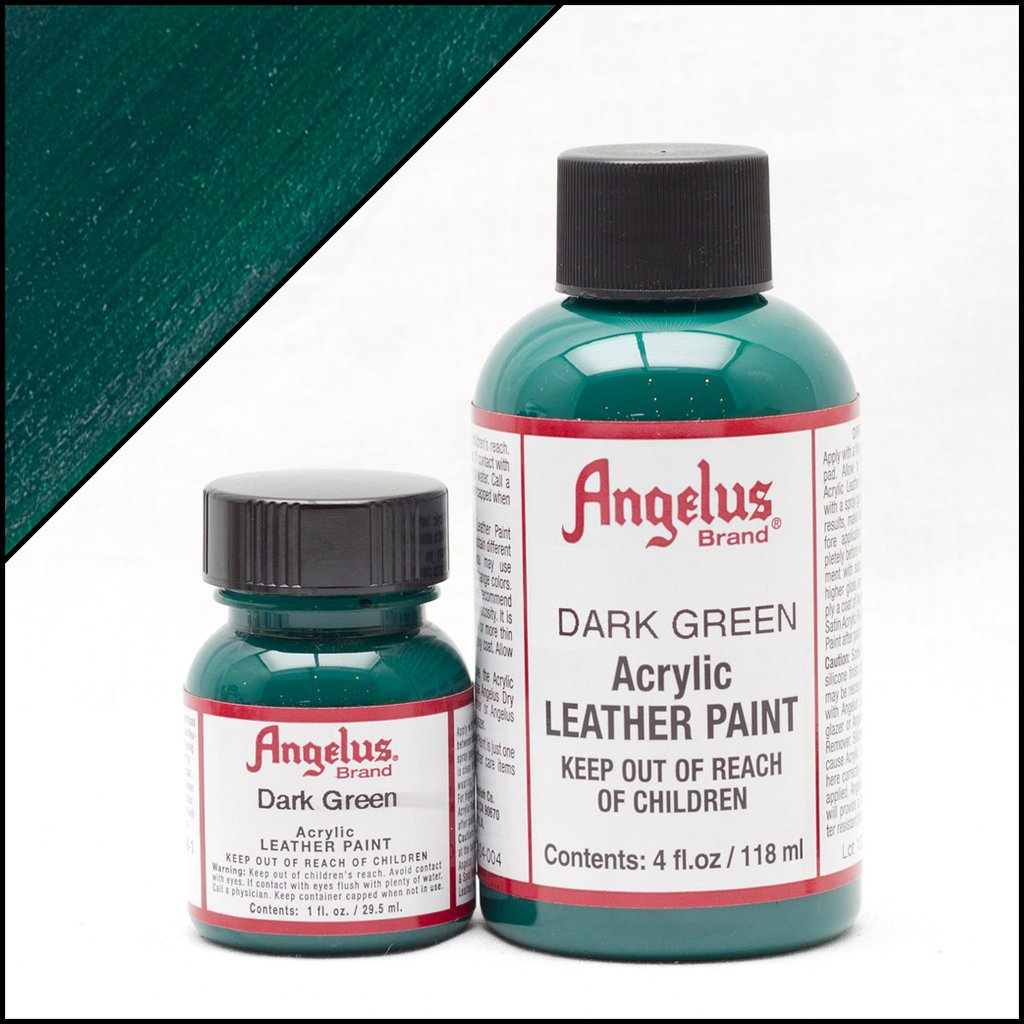 Angelus Dark Green Paint