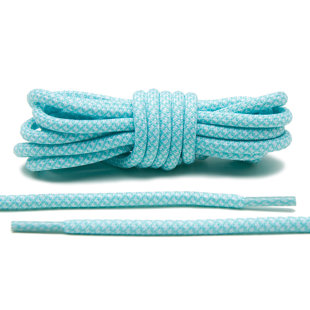 Mint/White – Rope Laces