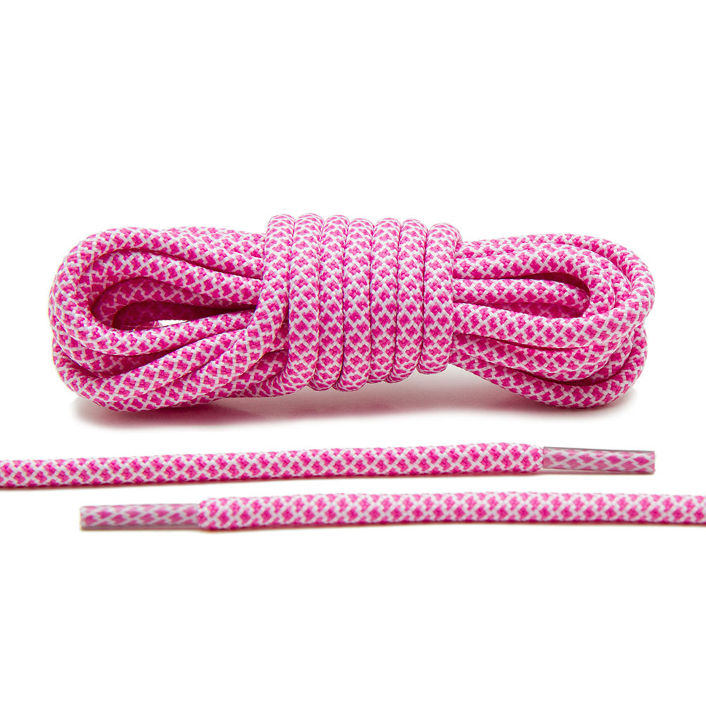 Pink/White – Rope Laces