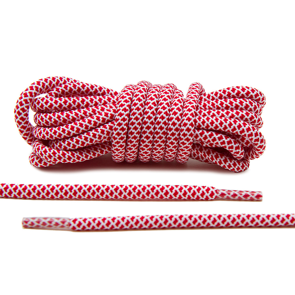 Red/White – Rope Lace