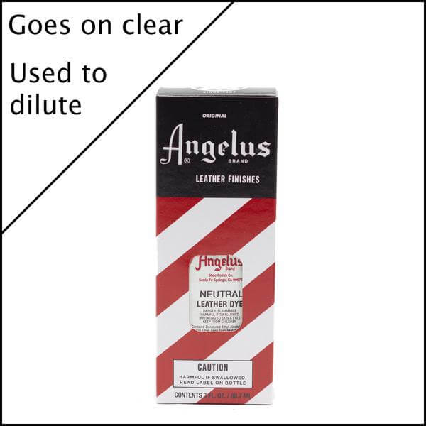 Angelus Neutral Leather Dye 3 Oz.