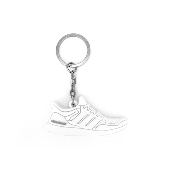 Adidas Ultra Boost 'Triple White' Keychain