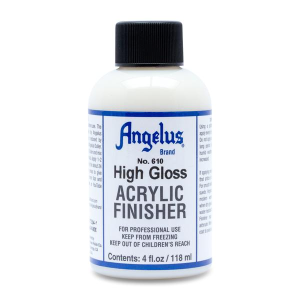 Angelus High Gloss Acrylic Finish 4 Oz.