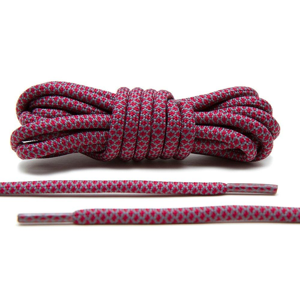 Maroon/Grey – Rope Laces
