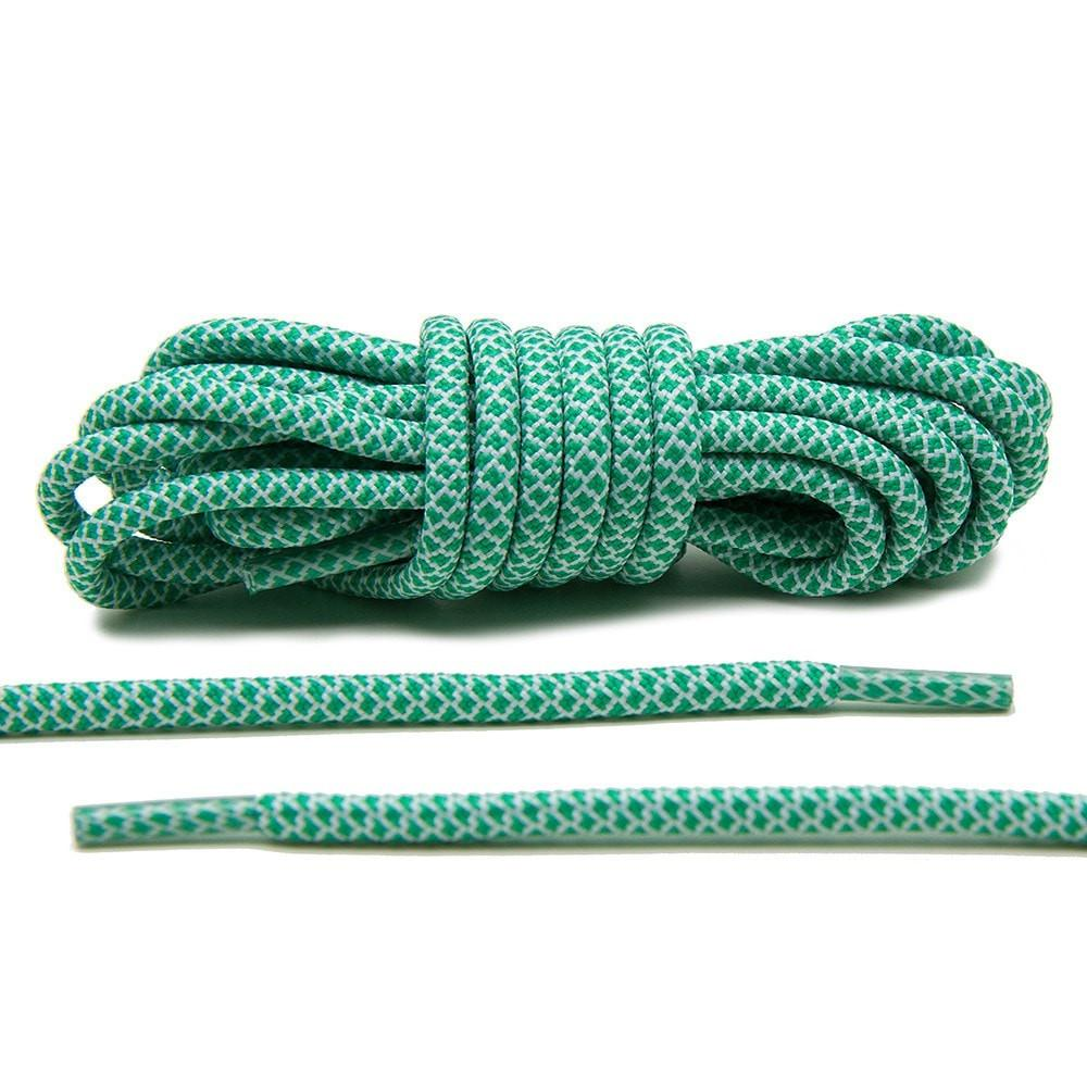 Green/White- Rope Laces