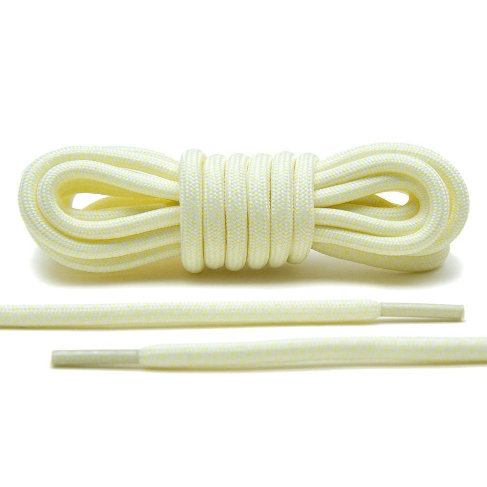 Cream/White – Rope Laces