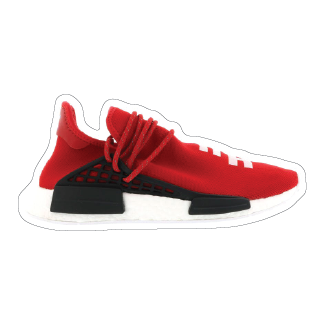 "Adidas Human Race ""Scarlet"" Shoe Box Sticker"