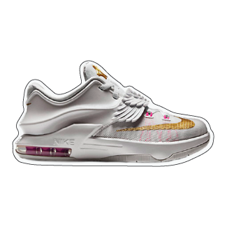 "Nike KD 7 ""Aunt Pearl"" Shoe Box Sticker"