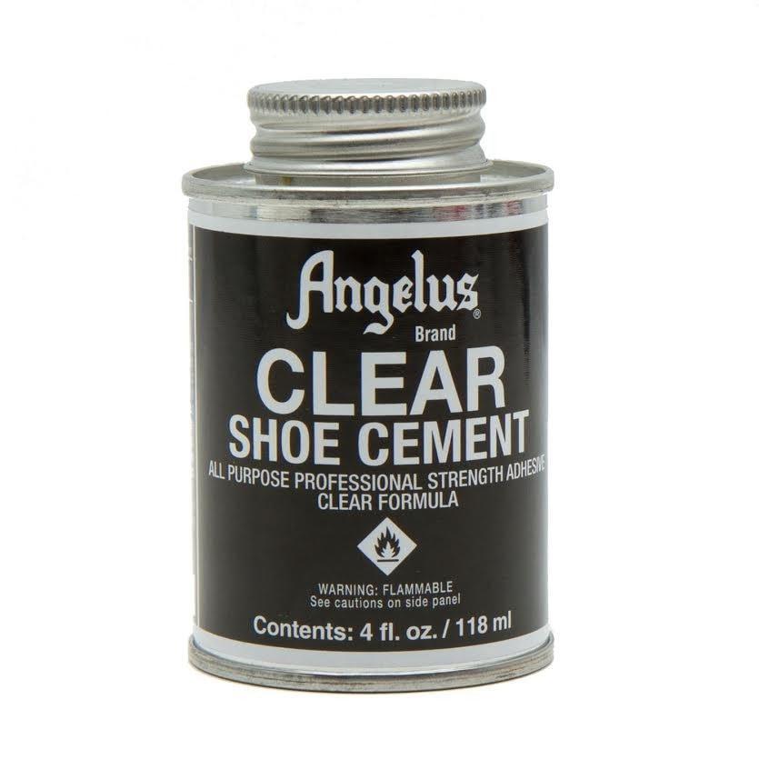 Angelus Clear Shoe Cement 4 Oz.